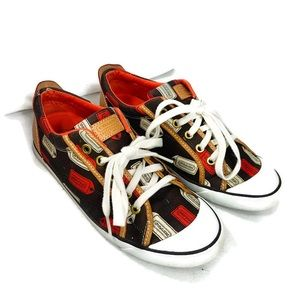 Coach Barrett monogram tag sneaker shoes size 9